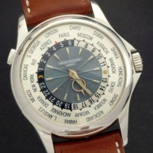 Patek Philippe 5130P-001 World Time Platinum Full Set 1