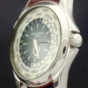 Patek Philippe 5130P-001 World Time Platinum Full Set 2