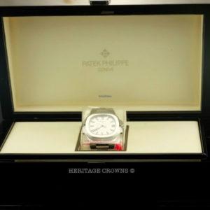 Patek Philippe Nautilus REF 5711 White Dial New Old Stock 3
