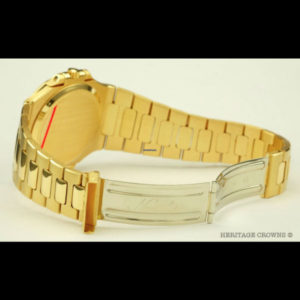 Patek Philippe Nautilus ref 3700:1 18k yellow gold with extract of archive 4