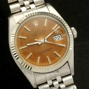 Rolex Datejust ref 16014 Quick set, Salmon Tropical dial1