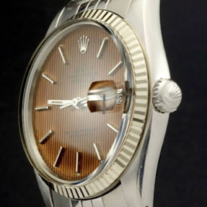 Rolex Datejust ref 16014 Quick set, Salmon Tropical dial3