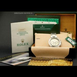 Rolex Daytona Ref 16520 N Serial Full Set8