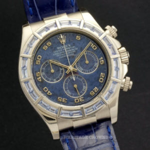 Rolex Daytona ref 116589 Saci Sodalite Dial with Rolex Papers1