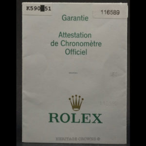 Rolex Daytona ref 116589 Saci Sodalite Dial with Rolex Papers12
