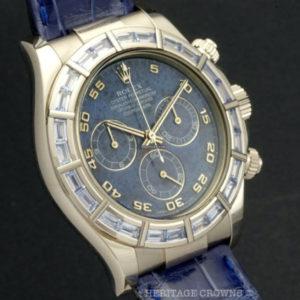 Rolex Daytona ref 116589 Saci Sodalite Dial with Rolex Papers6