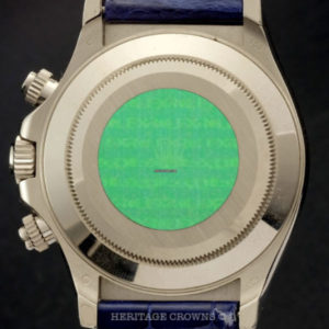 Rolex Daytona ref 116589 Saci Sodalite Dial with Rolex Papers8
