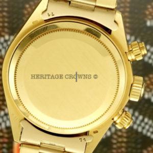 Rolex Daytona ref 6265 18k yellow gold11