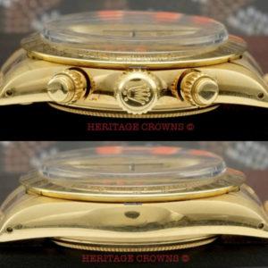 Rolex Daytona ref 6265 18k yellow gold9