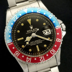 Rolex GMT-Master ref 1675 Gilt Chapter Ring Brown Dial1
