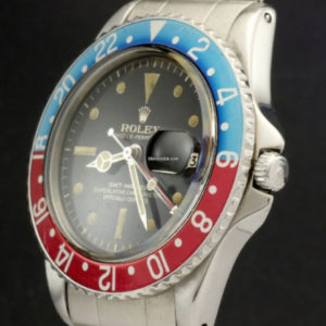 Rolex GMT-Master ref 1675 Gilt Chapter Ring Brown Dial3