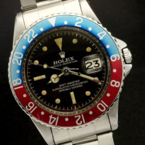 Rolex GMT-Master ref 1675 Gilt Chapter Ring Brown Dial4