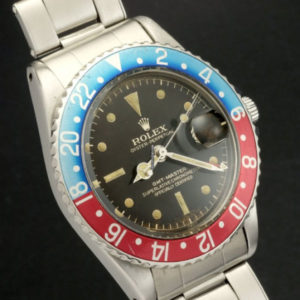 Rolex GMT-Master ref 1675 Gilt Chapter Ring Brown Dial6