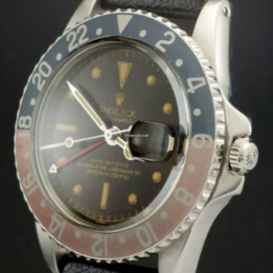 Rolex GMT-Master ref 1675 Gilt Chapter Ring Tropical Brown Dial3