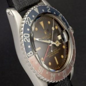 Rolex GMT-Master ref 1675 Gilt Chapter Ring Tropical Brown Dial6