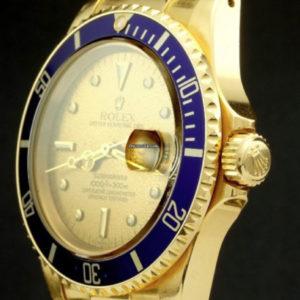 Rolex Submariner ref 16808, lemon tropical dial unpolished3