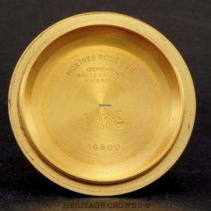 Rolex Submariner ref 16808, lemon tropical dial unpolished7