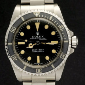 Rolex Submariner ref 5514 No Comex with Rolex Service Papers1
