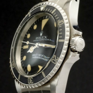 Rolex Submariner ref 5514 No Comex with Rolex Service Papers5