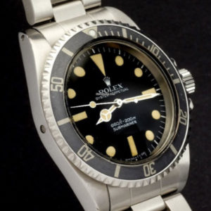 Rolex Submariner ref 5514 No Comex with Rolex Service Papers6