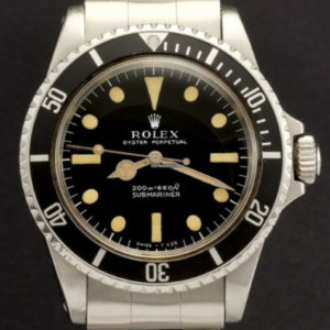Rolex submariner ref 5513 meter first full set1